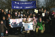 Oxted School Admissions Protest