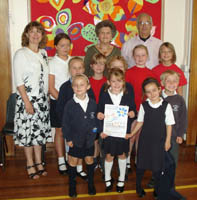Bletchingley in Bloom Success – Silver Gilt Award and 9 Certificates of Excellence – 2009