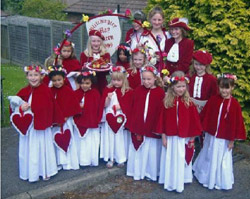 May Queen Crowning & May Queen Procession