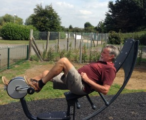 Official Opening for the Grange Meadow outdoor Adult Gym