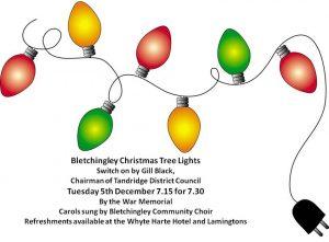 Bletchingley Christmas lights and carols