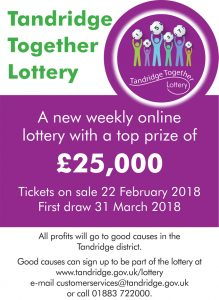 Tandridge Together Lottery 1st birthday special