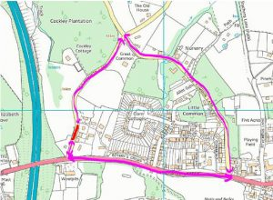 Big Common Lane Temporary Road Closure