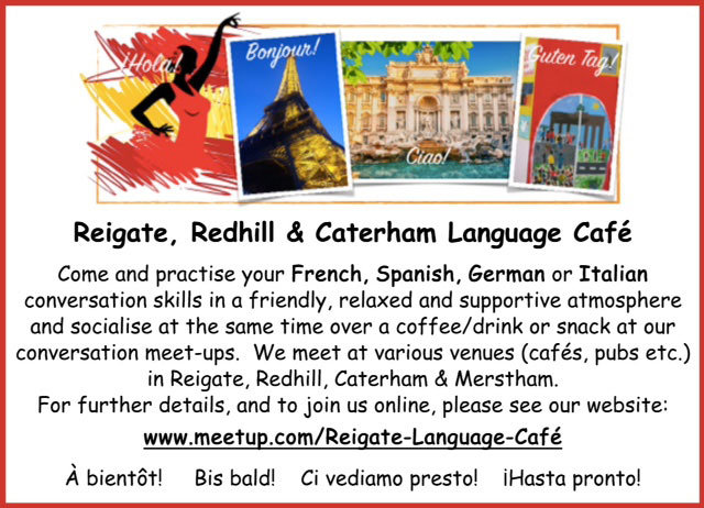 Reigate, Redhill & Caterham Language Cafe