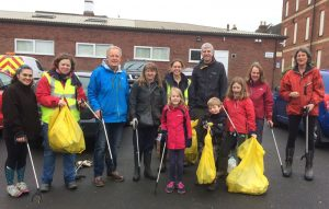 A successful community litter pick