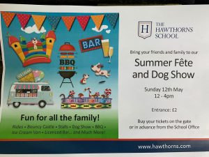 Early Summer Fete at Hawthorns School