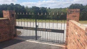 The New Bletchingley Cemetery – Progress report